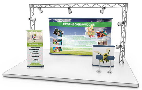Messe, Booth, Printdesign