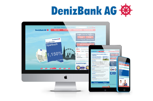 Webdesign DenizBank