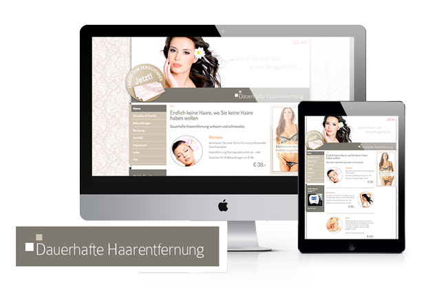 Webdesign, Homepage, Website