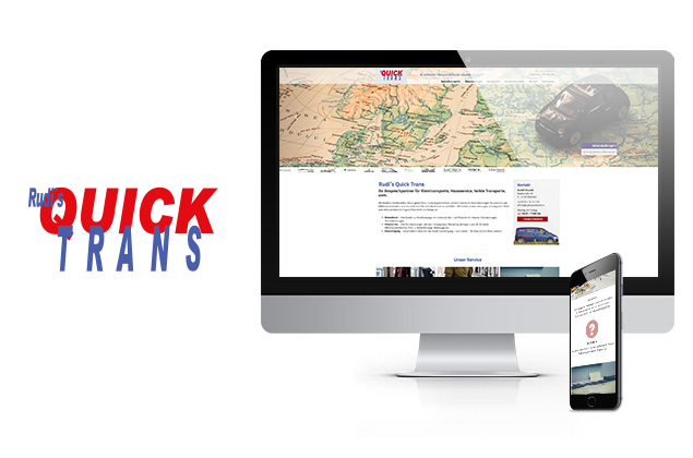 Webdesign Rudis Quicktrans