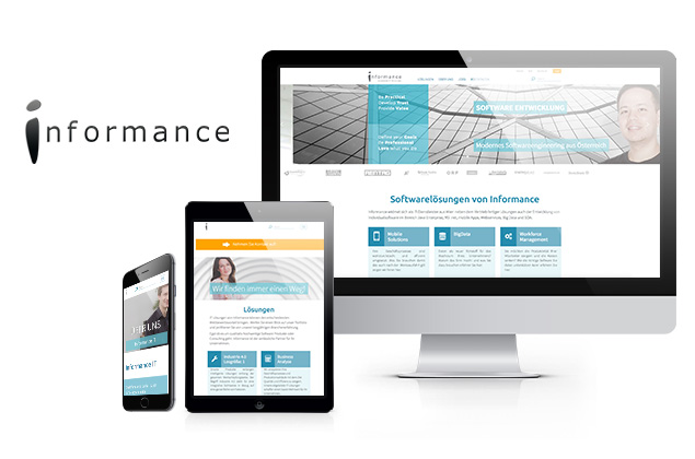 Webdesign Informance IT
