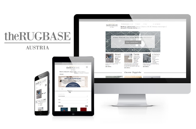 TheRugbase, Webdesign, Referenz