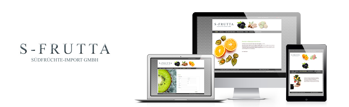 Referenz Responsive Website S-Frutta
