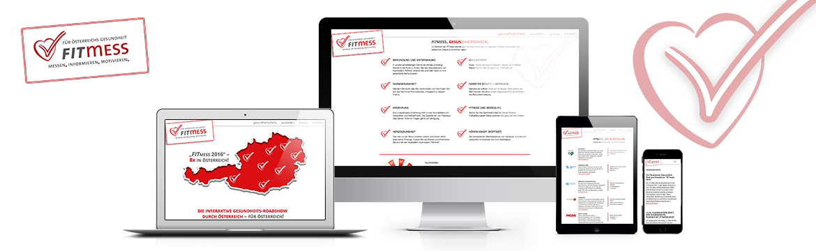 Referenz Website Fitmess